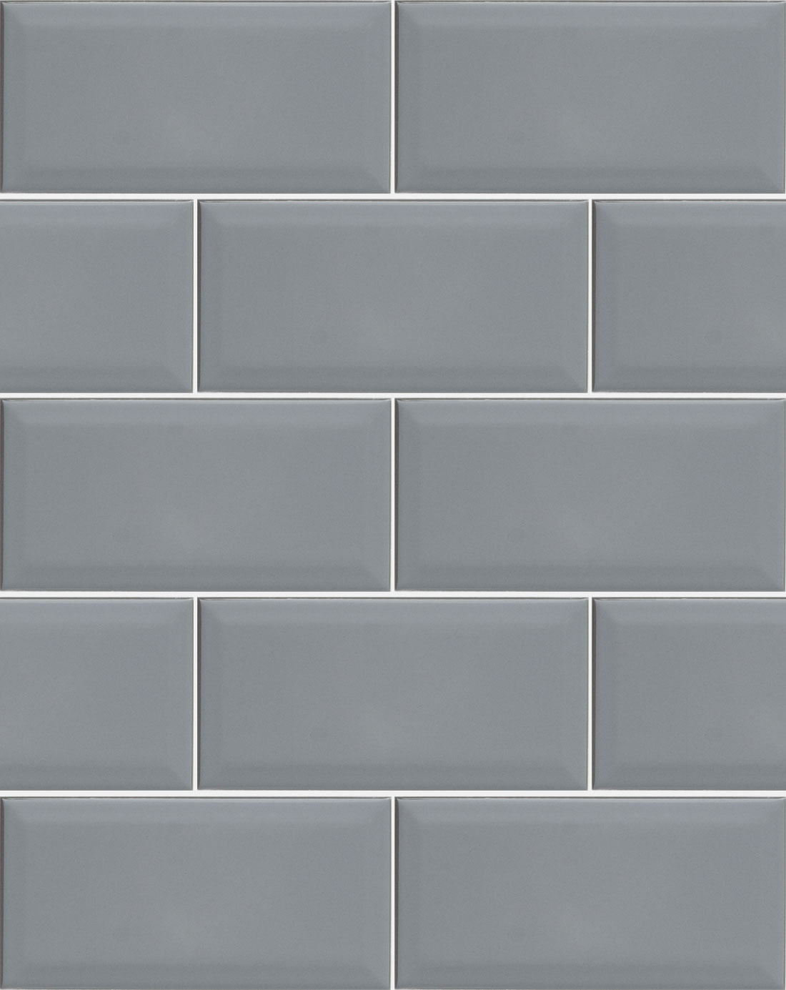 Metro Dark Grey Wall Tile Bathroom