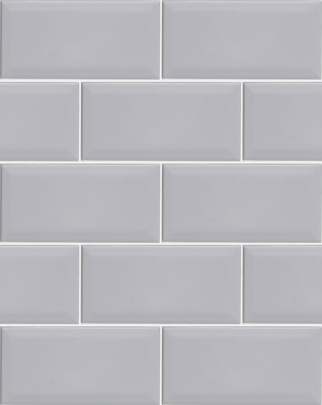Metro Light Grey Wall Tile - Bathroom Tiles Direct