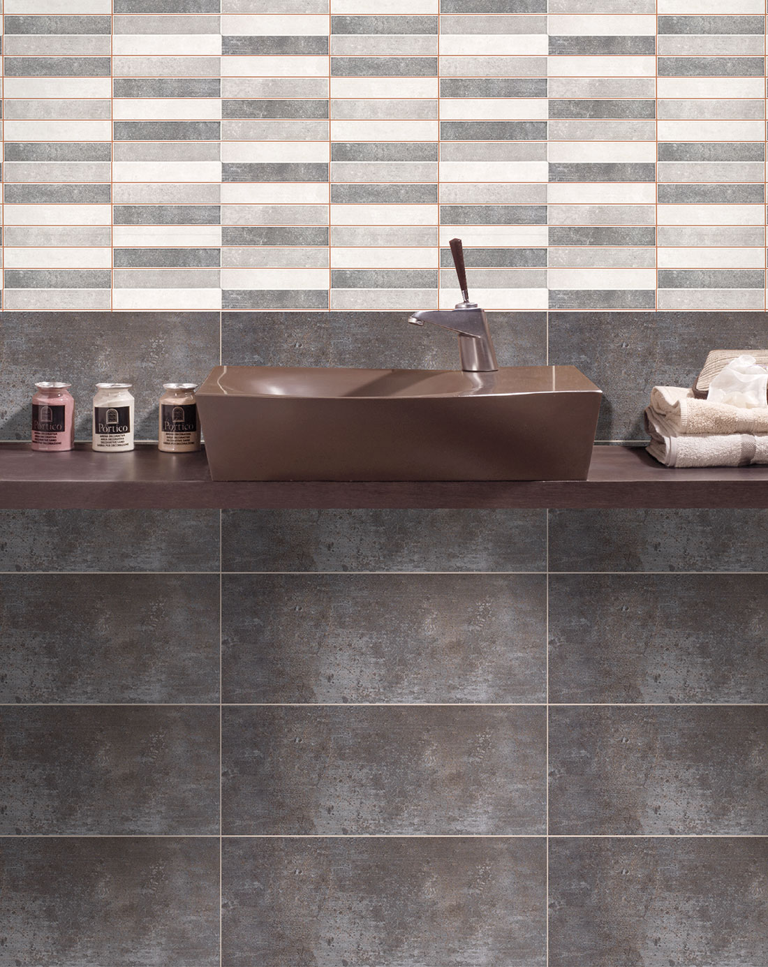 Wall tiles bulevar ripple antique kitchen wall tiles bulevar - Secret Gris Wall Tiles Bathroom Tiles Direct