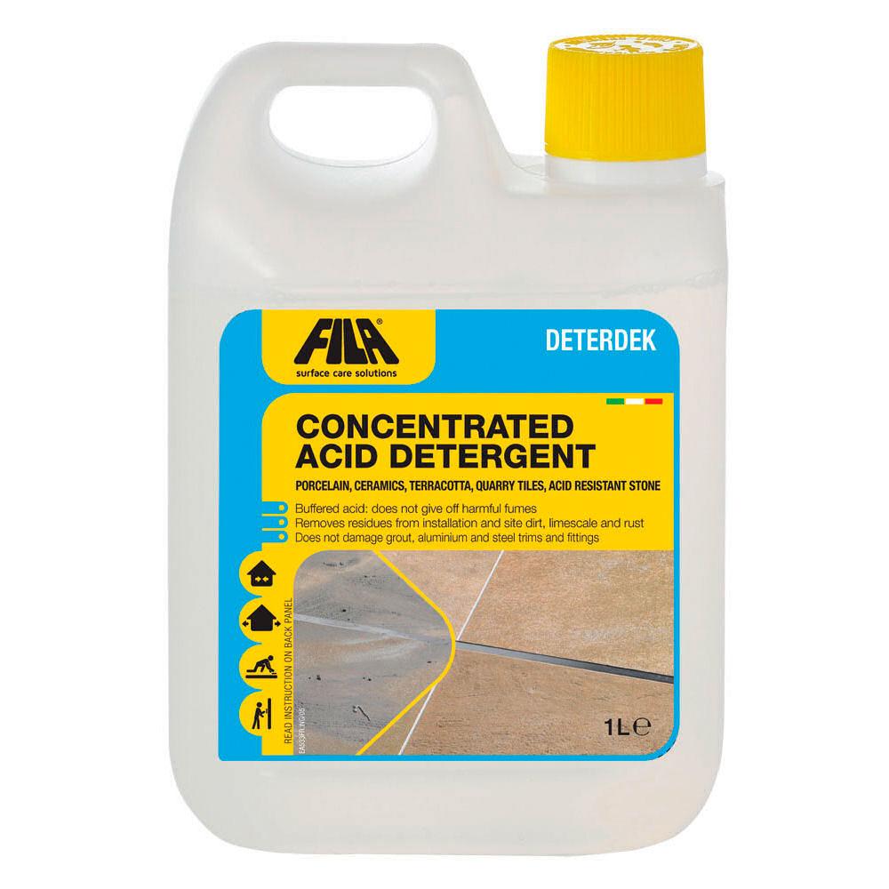 Fila deterdek acid descaling floor cleaner bathroom for Bathroom floor cleaning products