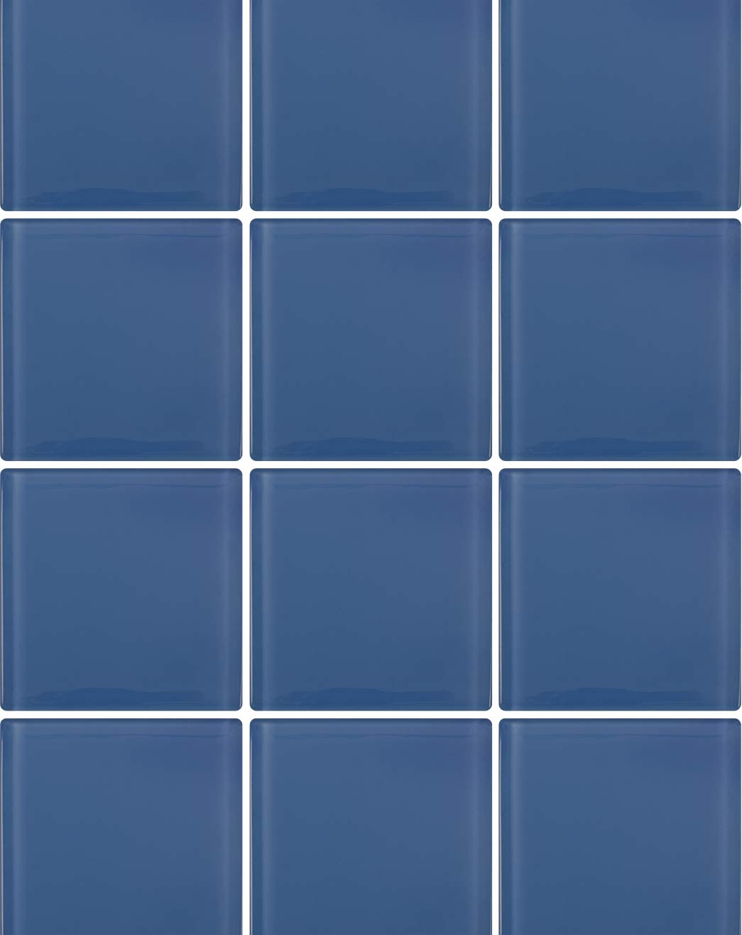 Mirage Electric Blue Bathroom Tiles Direct